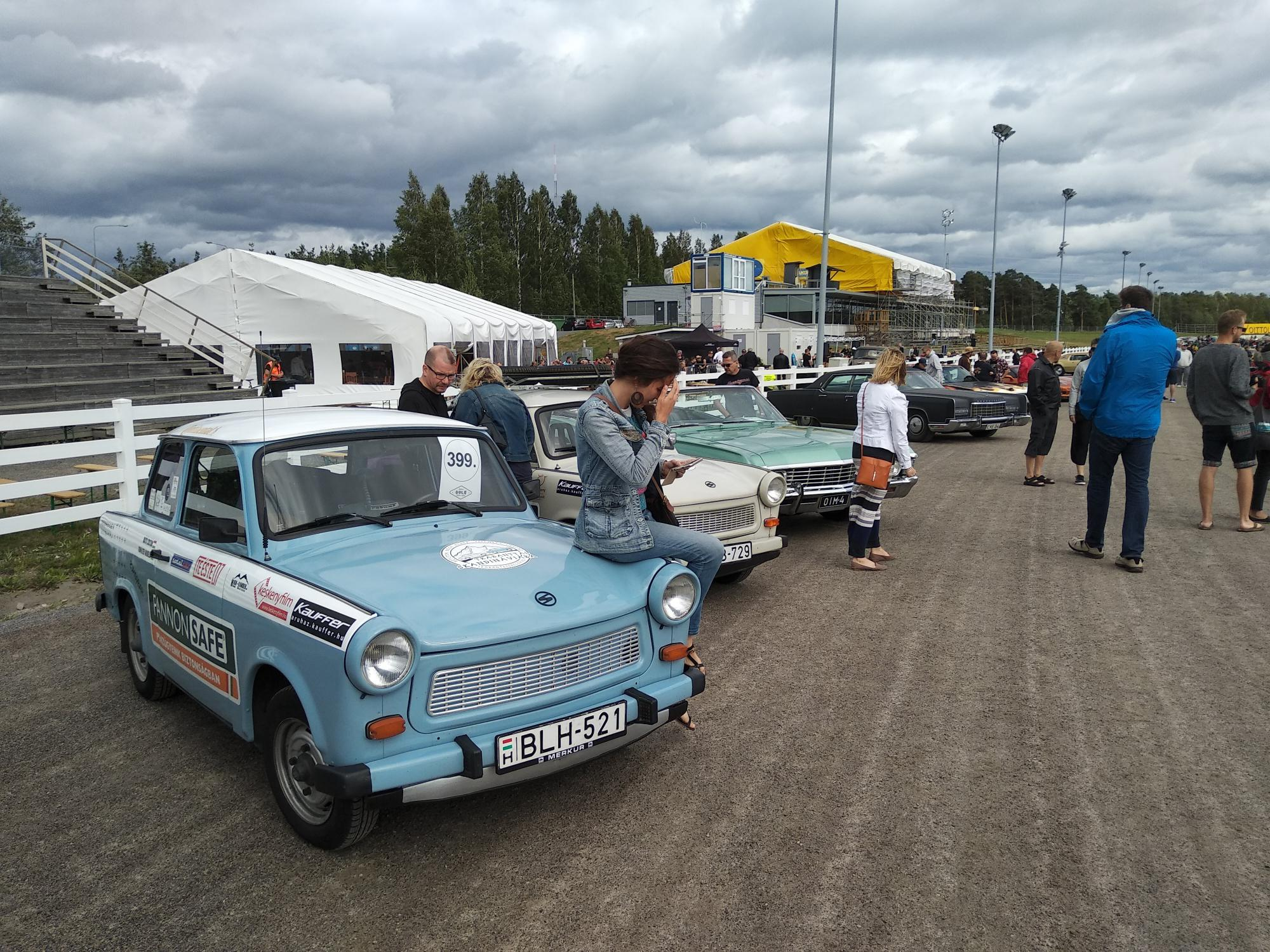 Ride in Oulu Motor Meet